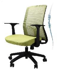 LUXUS เก้าอี้สำนักงาน  KLS007 สีเขียว