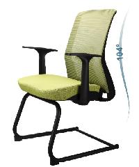 LUXUS เก้าอี้สำนักงาน KLS008 สีเขียว