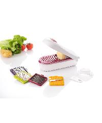 - ชุดสไลด์ผัก ขนาด 11.5 x 27.7 x 9.6 cm   ZDS016-WH  สีขาว