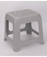 - เก้าอี้พลาสติก   ZAJX001-DGY ขนาด 31x33.5x31 cm สีเทาเข้ม