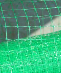 POLLO ตาข่ายพลาสติก 1.5x30M สีเขียว