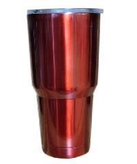 Sane แก้วสเตนเลสเก็บอุณหภูมิ 900ML 30oz-RD สีแดง