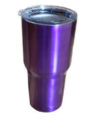 Sane แก้วสเตนเลสเก็บอุณหภูมิ  900ML 30oz-PU สีม่วง