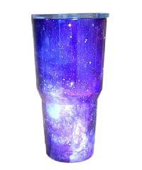 Sane แก้วสเตนเลสเก็บอุณหภูมิ ลายกาแล็คซี่ 900ML 30oz-CL1
