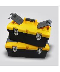 "PORT-BAG กล่องเครื่องมือช่าง  ดำ-เหลือง SM02 18"""