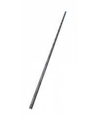 MAC คิ้วกระเบื้องแสตนเลสสตีล 304 แบบเหลี่ยม สูง 12 มม. หนา 0.6 มม.   SBP024-12 สีโครเมี่ยม