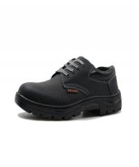 Protx รองเท้าเซฟตี้ พื้นเหล็ก เบอร์ 45 PT101 สีดำ