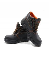 Protx รองเท้าเซฟตี้ พื้นเหล็ก เบอร์ 43 หุ้มข้อ  ST210 สีดำ