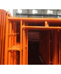 ปืนใหญ่ อุปกรณ์นั่งร้าน - ขาตั้ง 1219X1700มม. (2ชิ้นต่อชุด) - สีส้ม