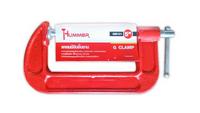 HUMMER แคลมป์จับชิ้นงาน 5นิ้ว GM101  สีแดง
