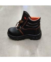 Protx รองเท้าเซฟตี้ พื้นเหล็ก เบอร์ 42 หุ้มข้อ ST210 สีดำ