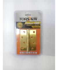 TORSTEN บานพับสเตนเลส 4x3x2mm 3 ชิ้น 4x3x2mm สีทอง