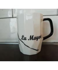 LAMAYON แก้วเซรามิค ขนาด 400ml EJ004 สีขาว