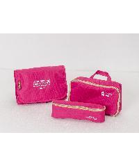 WETZLARS กระเป๋าจัดระเบียบแยกชิ้นได้ ขนาด 23.5x18x3 cm ZRH-019-FS ชมพูบานเย็น