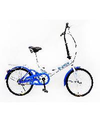MASDECO จักรยานแบบพับ 20 นิ้ว GMT-2002-ฟ้าขาว