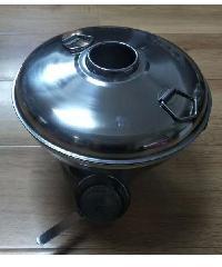 CLOSE หม้อไฟ  Charcoal  hotpot PQS-DYS22 28.5x22x16.5cm Silver PQS-DYS22