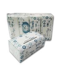 KLEARA กระดาษเช็ดหน้า 3 ชั้น (4 ห่อ/แพ็ค)  130 แผ่น/ห่อ  T-5