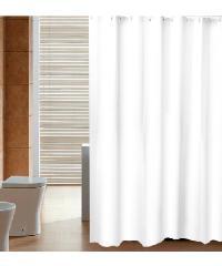 PRIMO ผ้าม่านห้องน้ำ PEVA ขนาด 180x180ซม. DF009 สีขาว