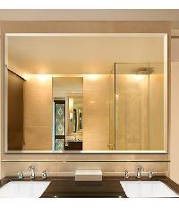 NICE กระจกเงาทรงเหลี่ยม ขนาด 100x75ซม. PQS-XS10075