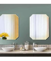 NICE กระจกเงาทรงเหลี่ยม ขนาด 60x80ซม. PQS-XS6080E