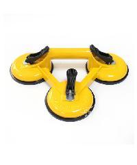 VINON TOOLS ตัวดูดกระจกอะลูมิเนียม 3 ขา JCH009 สีเหลือง