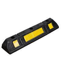 Protx ยางห้ามล้อ 60*12*10 cm. สีดำ-เหลือง  PQS-OBC-238