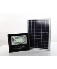 LUXUS โคมไฟโซล่าร์เซลล์ 24*6.2*20cm 16วัตต์ สีดำ HQ-40WTGD-TYN