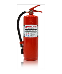 MERCURY เครื่องดับเพลิงชนิดผงเคมีแห้ง ขนาด 10LB  4A10B  แดง