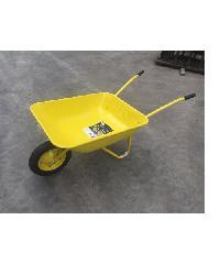 TUF รถเข็นปูนล้อเดียว ขนาด 590x1315x615 mm. WB5206 สีเหลือง