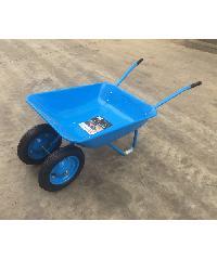 TUF รถเข็นปูนล้อคู่ ขนาด 600x1390x535mm WB6204S สีน้ำเงิน