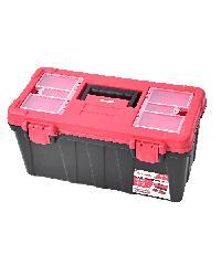 HUMMER กล่องเครื่องมือพลาสติก 20นิ้ว สีแดง-ดำ GLB320134