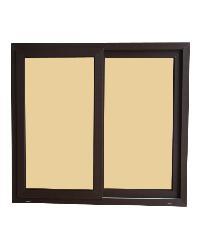 Wellingtan หน้าต่างบานเลื่อน 2 TONE 2 บาน 120x110cm (กxส)  BW1001