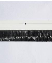 BIGROW เส้นกันแมลงอะลูมิเนียม แถบขนแปรง รุ่น 6301 90cm. สีขาว - สีขาว