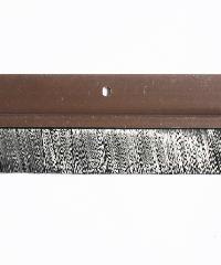 BIGROW เส้นกันแมลง PVC แถบขนแปรง รุ่น 6101 80cm. สีน้ำตาล - สีน้ำตาลเข้ม