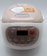 KENKO หม้อหุงข้าวไฟฟ้า ความจุ 0.8 ลิตร FD20D สีขาว