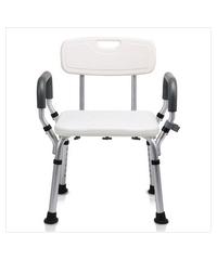 VERNO เก้าอี้อาบน้ำ มีพนักพิงและที่วางแขน  KDB799(JL6002)
