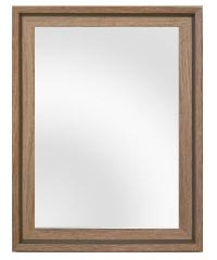 NICE กระจกมีกรอบ ขนาด 40x60CM  รุ่น 3807-A-W671