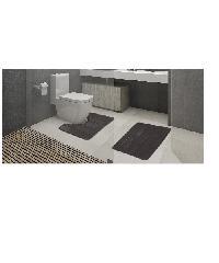 COZY พรมห้องน้ำ  CZ-005 COZY สีเทา