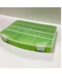 UCHI กล่องพลาสติกแบ่งช่อง  MC079-GN เขียว