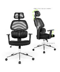 SMITH เก้าอี้สำนักงาน   ขนาด 64x131 ซม. TIKITERE ดำ