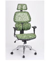 SMITH เก้าอี้สำนักงาน ขนาด 61x58x121 cm LAYNE สีเขียว
