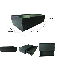 Delicato ตู้อเนกประสงค์ HD002-BK สีดำ