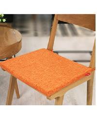 COZY เบาะรองนั่ง ขนาด 42x42 cm. VIOLA  **ซื้อ 1 แถม 1** สีส้ม
