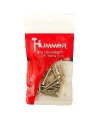 HUMMER สกรูเกลียวปล่อยหัว 7x1-1/2นิ้ว (25ตัว/แพ็ค) F-HM7112 สีโครเมี่ยม