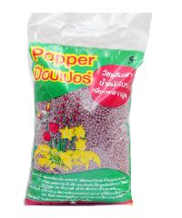 Popper  เม็ดดินเผามวลเบา ไซส์ S บรรจุ 1ลิตร  - น้ำตาล