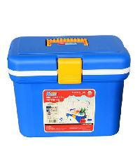 - กล่องคูลเลอร์ ร้อน-เย็น 7 ลิตร I.B-2001  สีน้ำเงิน