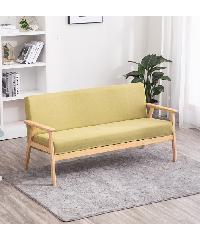 Divano  โซฟาผ้า 2ที่นั่ง ขนาด 65X113X71 ซม.  MH002  สีเขียว