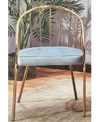 Pulito เก้าอี้ ขนาด 50×45×77cm. SQ013 สีฟ้า