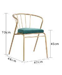 Pulito เก้าอี้ ขนาด 45×43×76cm. SQ014 สีเขียว
