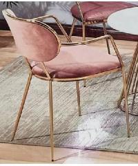 Pulito เก้าอี้ ขนาด 47×45×76cm. SQ015 สีชมพู